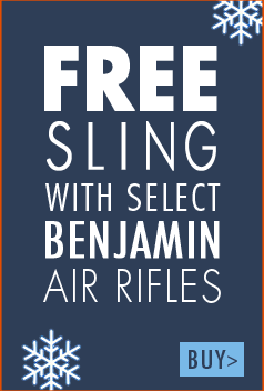 Free sling with select Benjamin Airguns