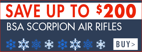 Save up to $200 on BSA Scorpions