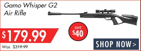 Gamo Whisper G2 - Save $40