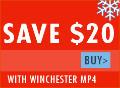 Free Target Cube with Winchester MP4