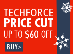 TechForce Price Cut - Up to $60 off
