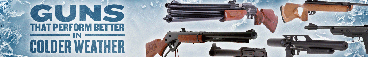 Airguns for Cold Weather Winter Shooting