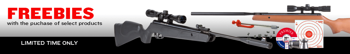 April Airguns with Freebies