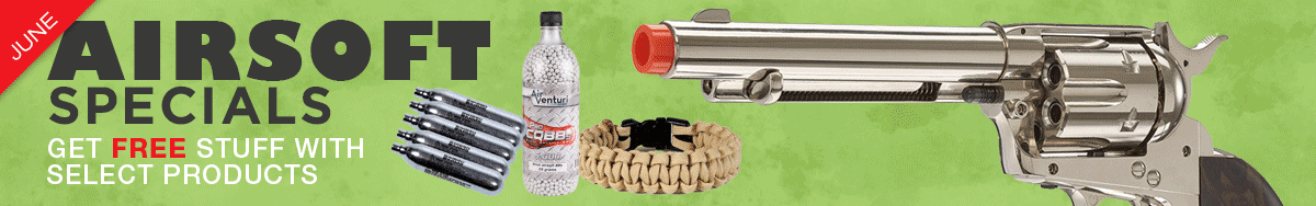 Monthly Airsoft Specials