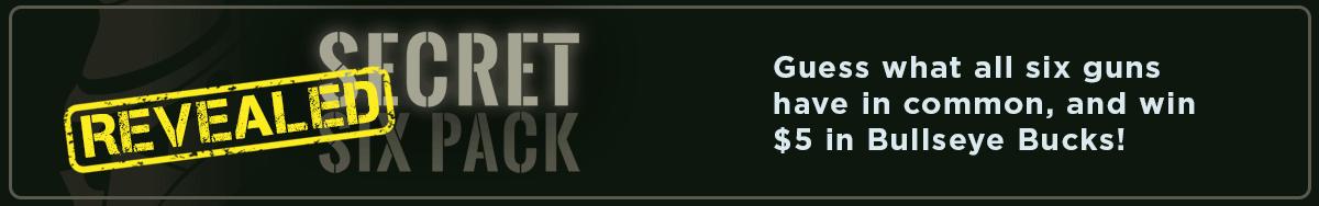 Unlock the Secrets of the Secret Six Pack