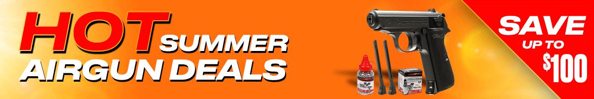 Warm Up With Spring Airgun Deals at Pyramyd Air