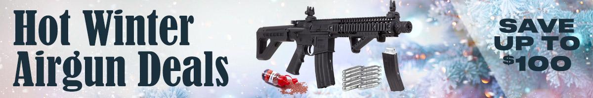 Warm Up With Hot Winter Airgun Deals at Pyramyd Air