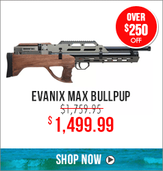 Save up to $300 on Evanix MAX Bullpup
