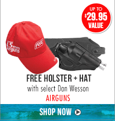 Free Holster + Hat Dan Wesson Airguns