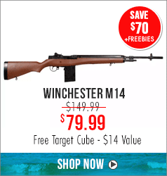 Winchester M14: Free Target Cube - $14 Value
