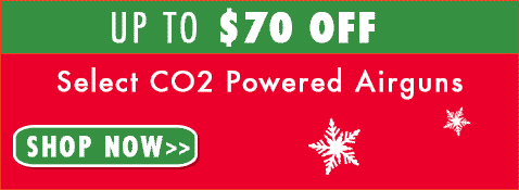 Up to $70 off select CO2 Powered Airguns