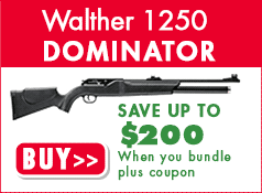 Walther 1250 Dominator - Save up to $200 when you bundle + use 10% off promo code