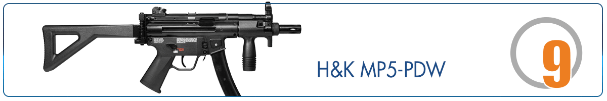 MP5 Silver Storm H K MP5 PDW 2848