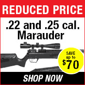 Benjamin Marauder Air Rifle Special Reduction