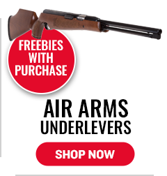 Air Arms Underlevers - Freebies with Purchase
