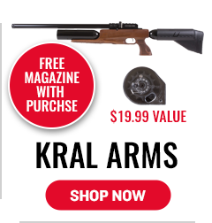 Kral Arms - Free Magazine with Purchase - 19.99 Value