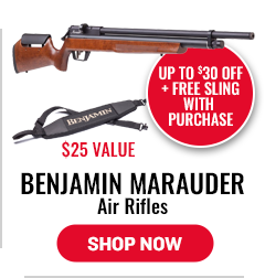 Benjamin Marauder Air Rifles - Up to $30 Off Plus Free Sling - $25 Value