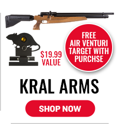 Kral Arms - Free Air Venturi Target with Purchase - $19.99 Value