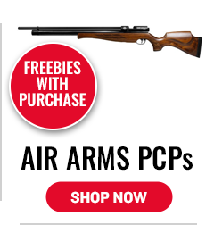 Air Arms - Freebies with Purchase