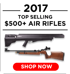 2017 Top Selling $500+ Air Rifles