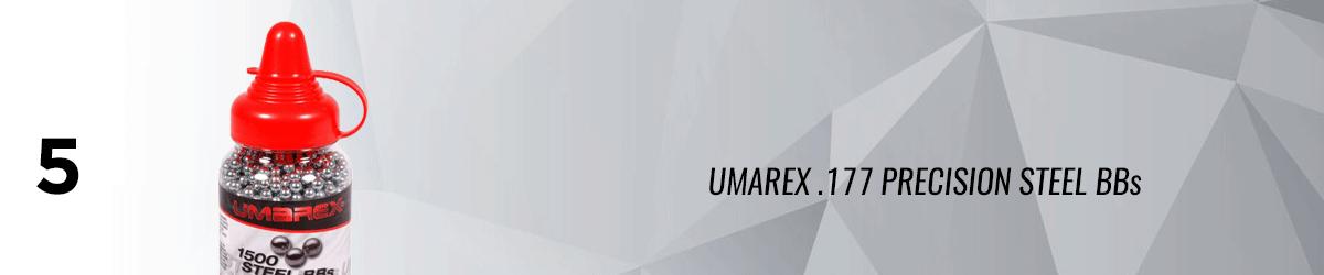 Umarex .177 Precision Steel BBs