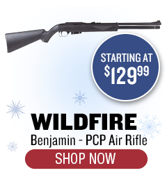 Benjamin Wildfire PCP Rifle - Starting at $129.99