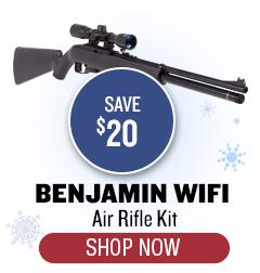 Benjamin WiFi Air Rifle Kit - Save $20