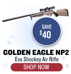 Eva Shockey Golden Eagle NP2 Air Rifle - Save $40