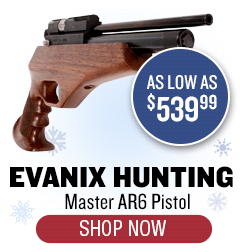 Evanix Hunting Master AR6 - as low as $539.99