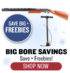 Free Ammo + More with Select Big Bore Purchase - Up to $130 value
