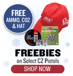 CZ CO2 Pistols - Free Ammo, CO2 and Hat