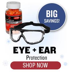 Eye + Ear Protection - Big Savings