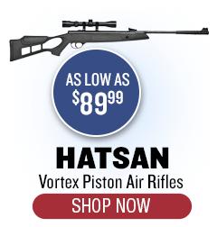 Hatsan Vortex Gas Piston Rifles - as low as $89.99