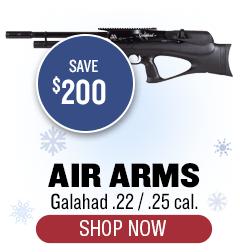 Air Arms Galahad - .22/.25 cal - Save $200
