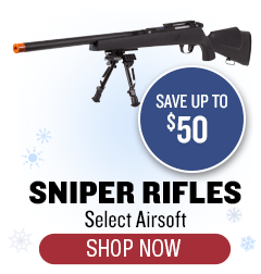 Airsoft Sniper Rifles - Up to $50 off