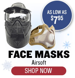 Airsoft Face Masks - As Low as $7.95