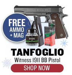 Tanfoglio Witness 1911 - Free Ammo and Mag