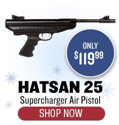 Hatsan 25 Supercharger Air Pistol - only $119.99