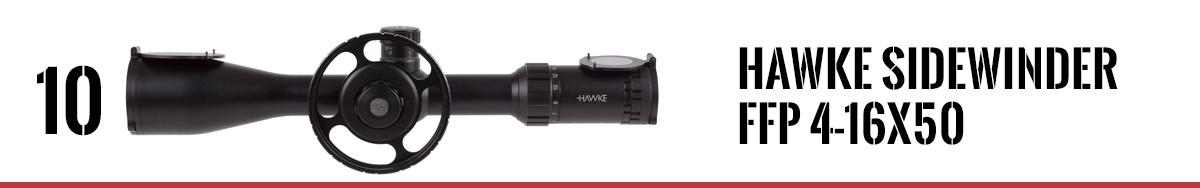 Hawke Sidewinder FFP 4-16x50