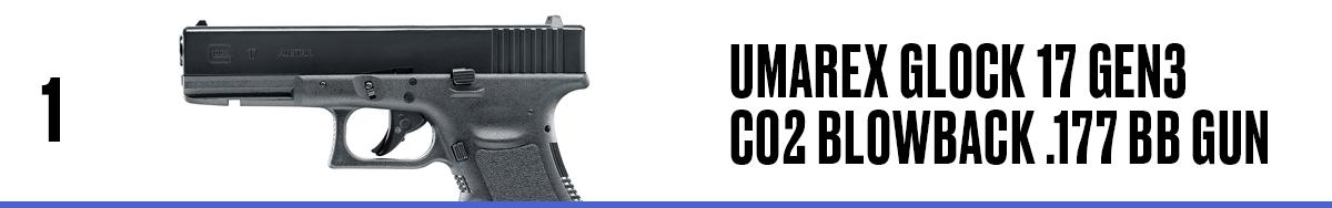 Umarex Glock 17 Gen3 CO2 Blowback .177 BB Gun