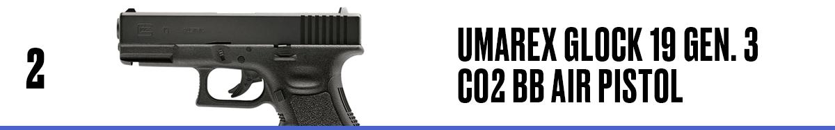 Umarex Glock 19 Gen. 3 CO2 BB Air Pistol