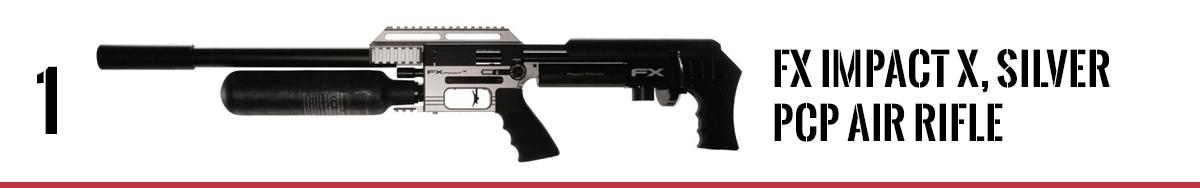 FX Impact X MKII, Silver PCP Air Rifle