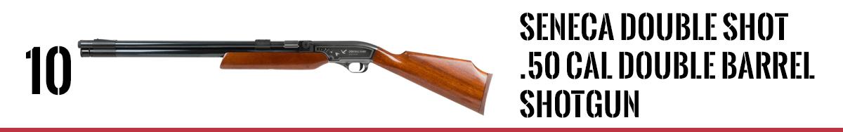 Seneca Double Shot .50 cal Double Barrel Shotgun
