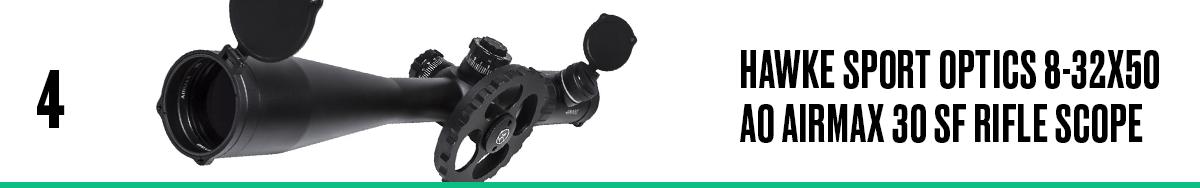 Hawke Sport Optics 8-32x50 AO Airmax 30 SF Rifle Scope