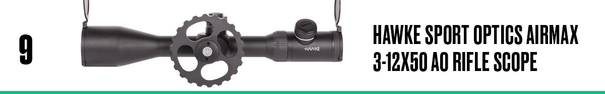 Hawke Sport Optics Airmax 3-12x50 AO Rifle Scope