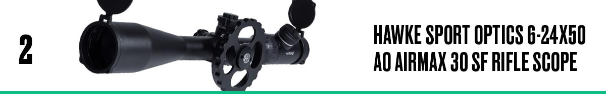 Hawke Sport Optics 6-24x50 AO Airmax 30 SF Rifle Scope