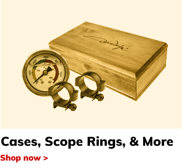 Cases, Scope Rings, & More