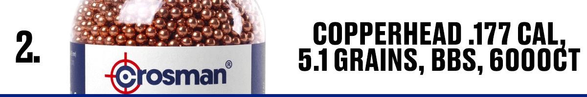 Copperhead .177 Cal, 5.1 Grains, BBS, 6000CT