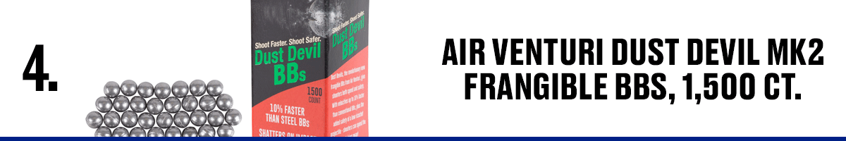 Air Venturi Dust Devil MK2 Frangibles BBs, 1,500 CT.