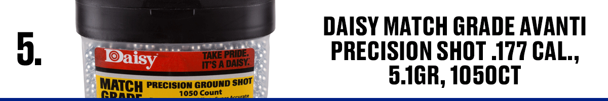 Daisy Match Grade Avanti Precision Shot .177 Cal., 5.1GR, 1050CT